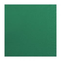 Χαρτοπετσέτα δίφυλλη χρώμα κυπαρισσί 33x33 cm - 100 τεμάχιων