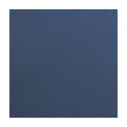 Χαρτοπετσέτα δίφυλλη χρώμα μπλε 33x33 cm - 100 τεμάχιων
