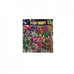 Χρυσονυφάδες πολύχρωμες διακόσμησης 10γρ